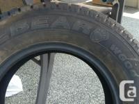 Set of 4 Hankook Ice Bear Snow Tires, used 2 seasons. for sale  British Columbia