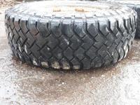 Pair of Hankook truck tires LT 265/75 R16. On 8 bolt