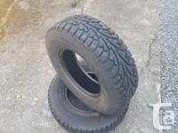 Excellent condition studded ,worth 200.00 per tire no