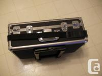Hard Professional Camera Case With Wheel & Handle