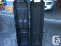 Sturdy hard plastic golf travel/carrying case. Space for sale  British Columbia