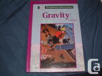 """Hardcover books for kids, """"Gravity"""" and """"Storms and"""