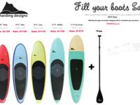 Harding Designs Paddle Board Sale | Support Canadian