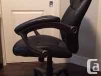 Hardly used computer chair . As New $60 obo . Email