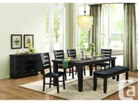 """Large Hardwood dining table with 18"""" hidden butterfly"""