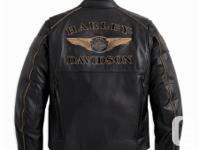 HARLEY DAVIDSON 110TH ANNIVERSARY LEATHER JACKET