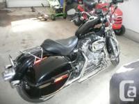 2010 Harley Davidson 883xl, 11000kl, fuel injection,