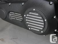 Primary and Inspection covers are CNC machined from