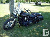 2011 Harley Davidson Street Bob, 1584 cc, denim black,