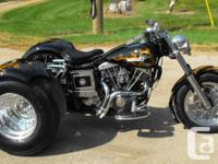 Harley Davidson Dyna Trike Conversions. Several to