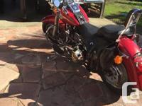 Make Harley Davidson Model Fatboy Year 1998 kms 58000