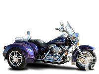 Hannigan Harley-Davidson FLH Trike Conversion Set Can