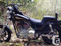 "Make Harley Davidson Year 1983 1983 FXRS, 100"" S&S"
