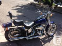 Make Harley Davidson Model Softtail Year 2001 kms