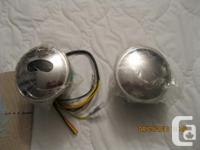 H.D. gas caps from 2009 Soft tail. One has gas gauge