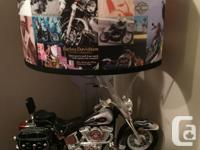 Cool lamp for the biker in the family or the biker's