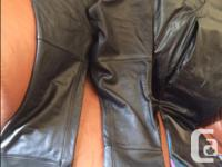 Genuine leather, Authentic Harley Davidson riding