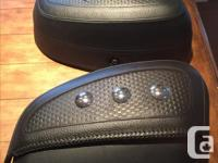 Harley Davidson leather saddlebags from a 2011 softail