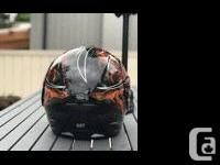 9.5/10 Harley Davidson Helmet. Never dropped, virtually