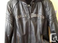 Size medium.. Harley Davidson motorcycle jacket