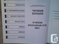 Service Manual for XLM Models, 1995 Harley Davidson