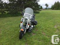 Make Harley Davidson Model Softtail Year 1995 kms