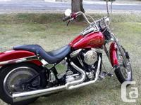 Make Harley Davidson Year 1990 1990 softail Springer