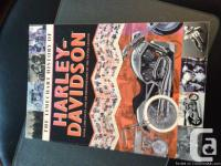 This book is entitled Harley Davidson The Timechart