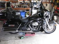 2009 ultra classic, vivid black, abs, bag liners, trunk