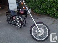 2008 Harley davidson shovelhead chopper. Bike is tough