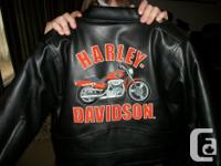 hello i have a awesome boys size 4 Harley jacket in