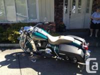 Make Harley Davidson kms 12055 2009 Road King Classic.