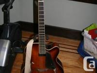 this beautiful guitar is in mint condition.  its a