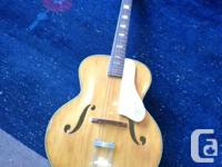 Harmony Monterey Acostic Steel String guitar.  Made