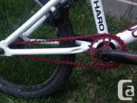 I am selling a white Haro 200.2 BMX. New Eastern Bikes