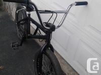 THIS RAT ROD BMX HAS A 11 INCH SEAT POST, 20.5 INCH