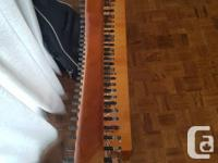 This is a beautiful harp that was bought over 7 years