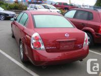 Make Nissan Model Altima Year 2005 Colour MERLOT kms