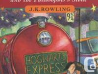 Harry Potter publications 1-5 and 7. The books are all
