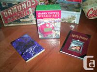 Harry Potter Boxed Set 3 Volumes Hardcover Rowling,