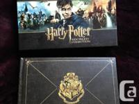 Sleek box set of all the Harry Potter films plus lots