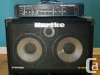 Powerful, full, crisp and clear. HARTKE HA 3500 BASS