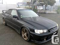 King of touring - JZX100 Toyota Chaser  This is a