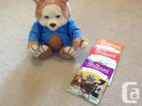 T.J Bearytales Storytelling Singing Talking Bear With 2