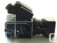 Hasselblad 503CX Kit: $1100 Hasselblad Schneider