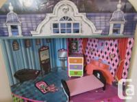 3 story mansion for Barbie or Monster High dolls. Very