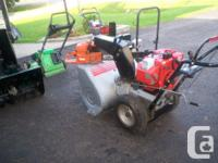 ariens-- 8h. p 24in. ------ craftsman 10h. p. 28in.