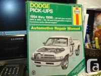 I have for sale three Haynes Automotive Repair Manuals