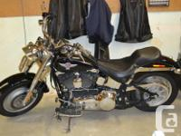 Make Harley Davidson Model Fatboy Year 2005 kms 34 15th