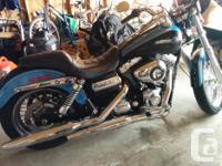Make Harley Davidson Model Dyna Year 2011 kms 15500
